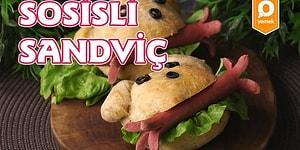 Çocuklar Buna Bayılacak! Sosisli Sandviç Nasıl Yapılır?