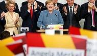 Almanya'da İlk Sonuçlar Belli Oldu: Merkel 4. Kez Kazandı, Aşırı Sağcılar İlk Kez Meclis'e Girdi