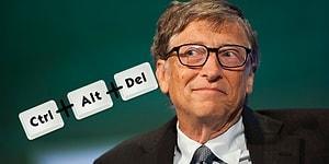 Yıllar Sonra İtiraf Etti: Microsoft'un Kurucusu Bill Gates 'Ctrl+Alt+Del' İçin Pişmanmış