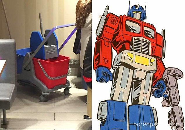 27. O havalı tırdan sonra olmadı bu Optimus reis..