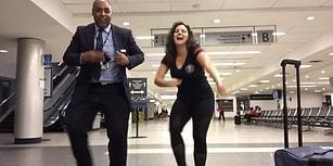 Kaçırdığı Uçuş Sonrası Öfkeye Kapılmamak İçin Tüm Gece En Sevdiği Şeyi Yapan Kadın: Dans!