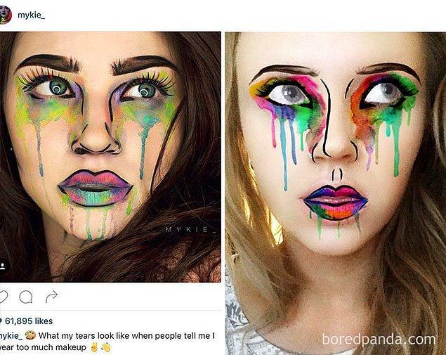 18. Snapchat'in çalıntı filtresi: