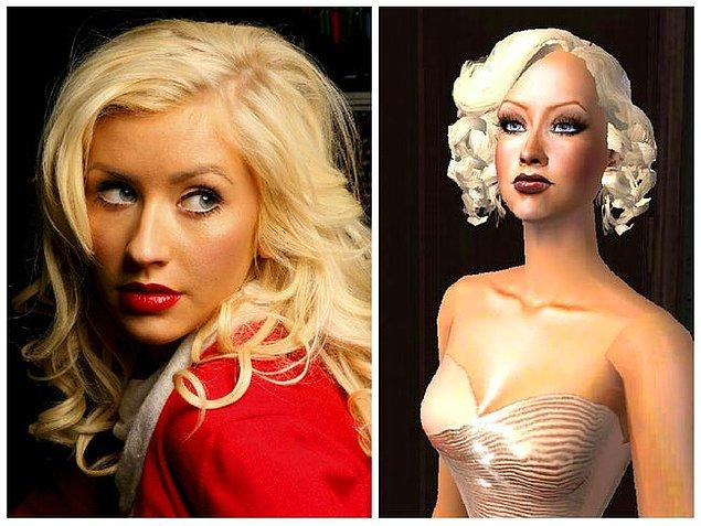 13. Christina Aguilera (The Sims: Superstar)