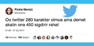 Karakter Sınırını 140'tan 280'e Çıkaran Twitter'a Tepkilerini Mizahla Veren Twitterzedeler