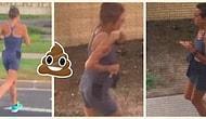 Mahalle Sakinleri Şokta! Sabah Koşusuna Çıkıp Etrafa Kakasını Yapan Kadın 💩