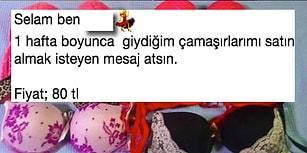 """Artık Türkiye'de! Fetişistlerin Yeni Gözdesi """"Giyilmiş İç Çamaşırı ve Kıyafetler"""""""