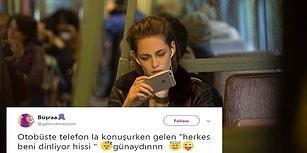 Toplu Taşımada Gönül Rahatlığıyla Telefon Konuşmaları Yapamayan İnsanların Bildiği 15 Şey