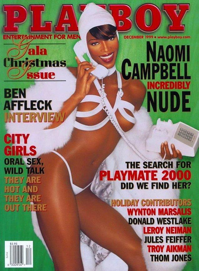 11. 1999: Naomi Campbell, 16 ülkede 18 kapakta yer aldı. Bunlardan ilki 1999 Amerika sayısı.