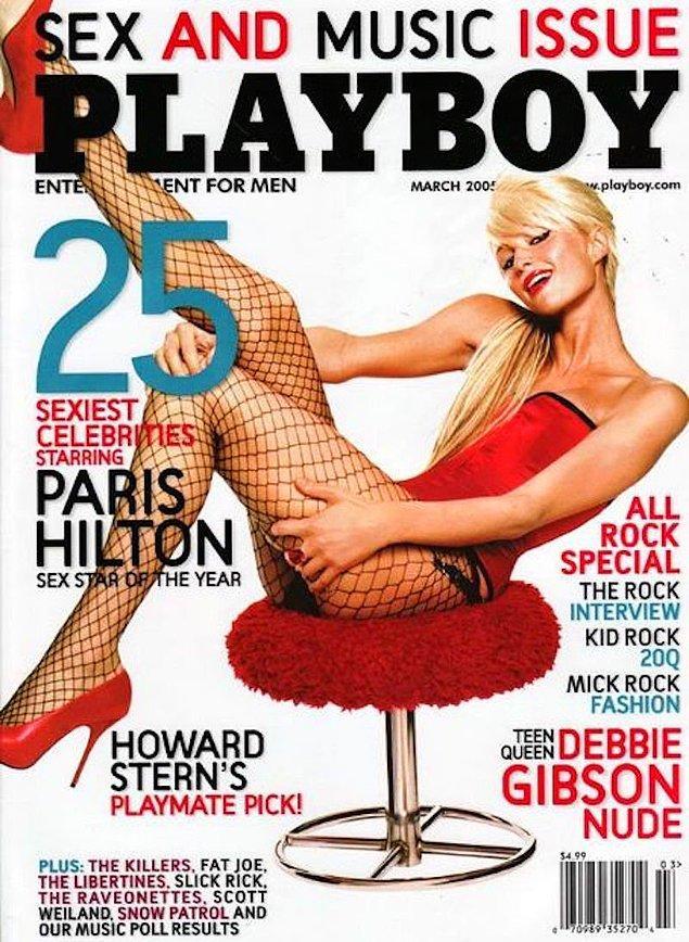 15. 2005: Paris Hilton, Amerika ve Slovakya sayılarında birer kez kapak kızı oldu.
