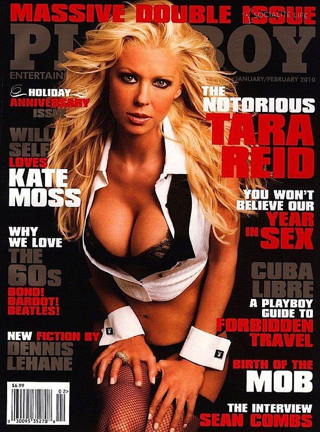 20. 2010: Tara Reid, 9 ülkenin kapağında yer aldı.