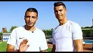 Cristiano Ronaldo ve Soufiane Touzani'nin Freestyle Kapışması