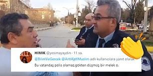 Davranışları ve Naifliğiyle Türk Polisinin Nasıl Olması Gerektiğini Herkese Gösteren Koca Yürekli Abimiz