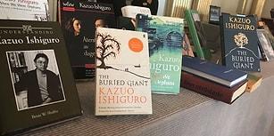 Nobel Edebiyat Ödülü'nün Sahibi Kazuo Ishiguro Oldu!
