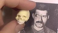 Yetenekli Sanatçıdan Minyatür Freddie Mercury Heykeli Yapılışı
