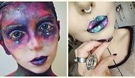 Cadılar Bayramı Yaklaşırken Yükselen Pırıl Pırıl Bir Güzellik Trendi; Galaksi Makyajı 💫