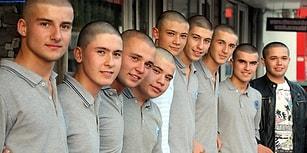 En Anlamlı Destek: Zonguldak'ta 12 Liseli, Lösemi Tedavisi Gören Arkadaşları İçin Saçlarını Kazıttı