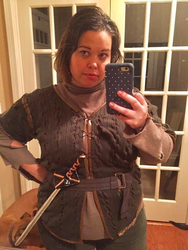 5. Arya Stark, kendin yap kendin giy kostümü!
