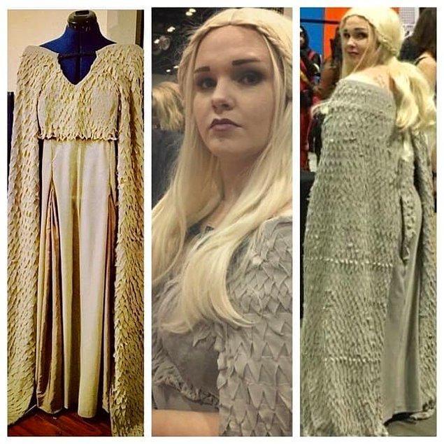 14. Daenerys olmak için dikiş kutusunu çıkarıp uğraşan hanımlar.