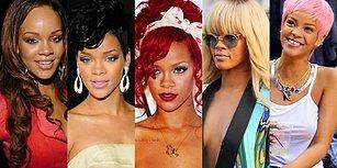 Her Zaman Şaşırtan Yenilik Kraliçesi Rihanna'nın Saç Stili Evrimini İnceliyoruz!