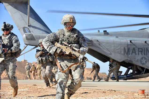 6. Irak'taki özel kuvvetler komutanlığına yapılan ABD baskını ve 'çuval' olayı.