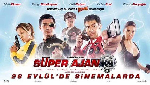 2. Süper Ajan K9 (IMDb Puanı: 1,5)