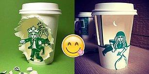 Güney Koreli Sanatçıdan Starbucks Müdavimlerinin Çok Hoşuna Gidecek 33 Çalışma