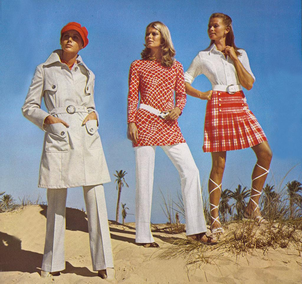 Fashion trends of 1970