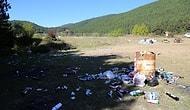 Doğa Kampında Doğa katliamı