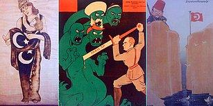Türk Tarihinin Zorluklarla Geçen Dönemlerindeki Psikolojiyi Çok İyi Yansıtan 25 Çizim