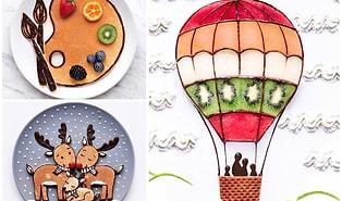 """""""Yemek Önce Gözü Doyuracak!"""" Sözünü Biraz Abartan Sanatçı: Daryna Kossar"""
