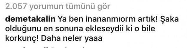 Hülya Avşar'ın bu sözlerine Demet Akalın da tepki gösterdi: