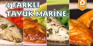 Tavuğun En Şipşak 4 Hali: 4 Farklı Tavuk Marine Nasıl Yapılır?