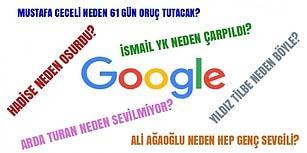 """Ünlülerimizle İlgili Google Efendiye Sorulan Bu Absürt """"Neden""""lere Çok Güleceksiniz!"""