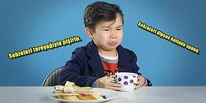 Çocuğunuzun Sebze Yememesinden Şikayetçiyseniz Ona Sebze Yemeklerini Sevdirmenin Bazı Yolları Var!