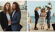 Evlenirken Sade Bir Tören Tercih Etse de İnternet Şöhretinden Kaçamayan İki Güzel Adam! 🔥