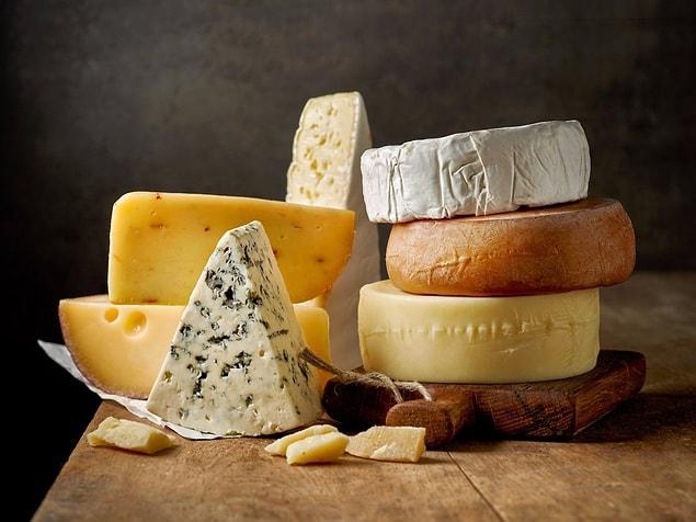 Peynir ise vücuttaki yağ eksikliğini gösteriyor olabilir.