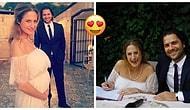 Bir Tanecik Savcı Esra'mız Hamile! Canan Ergüder ve Kenan Ece Evlendiler!