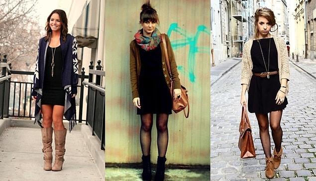 Hırkalarınızı tabii ki sadece sokak stiliyle değil gece gezmelerinizde mini bir elbisenin üzerine de alabilirsiniz.