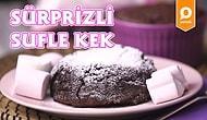 Suflenin En Güzel Tarafı Çikolatası Diyenleri Şaşırtan Sürprizli Sufle Kek Nasıl Yapılır?