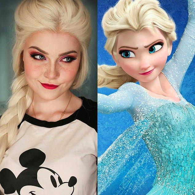 15. Elsa - Karlar Ülkesi