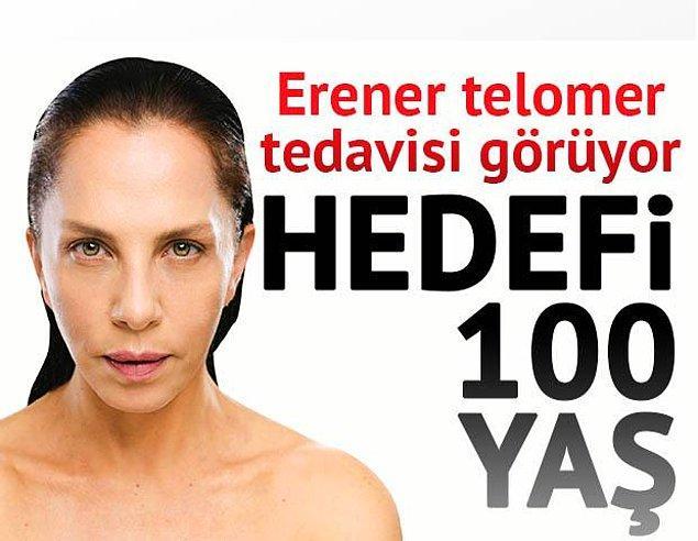 Peki yine ilk kez Sertab Erener sayesinde duyduğumuz telomer tedavisi nedir?