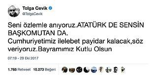 Yaşa Mustafa Kemal Paşa Yaşa! Ünlüler Camiasından Coşkulu Cumhuriyet Bayramı Kutlamaları 🇹🇷