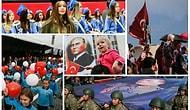 Türkiye Bayramını Kutladı: Yurttan 29 Fotoğraf ile 29 Ekim Cumhuriyet Bayramı
