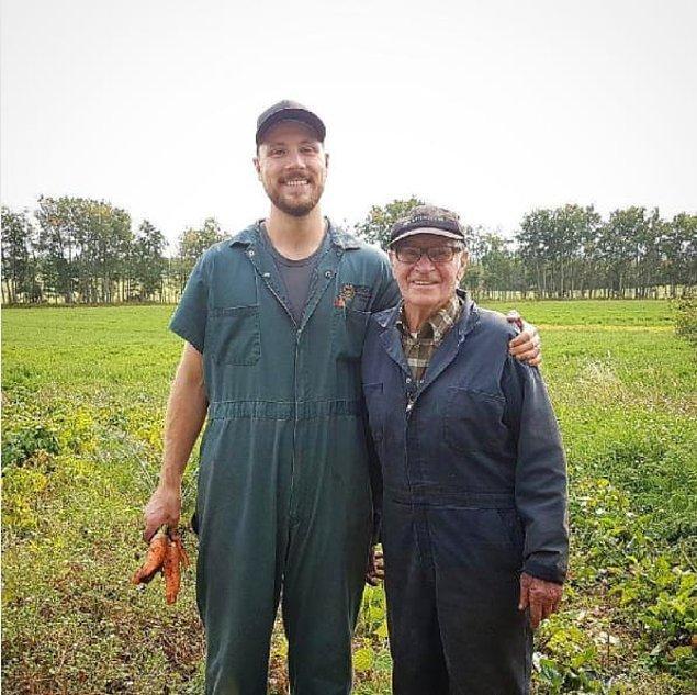 11. Oturup bütün gün televizyon izlemek yerine çiftlik işleriyle uğraşan çalışkan amca 🤓
