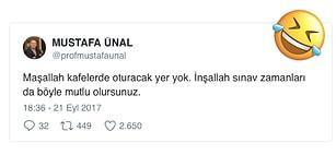 Twitter'da Verdiği Cevaplarla Ders Esnasında Kahkaha Attıran Akdeniz Üniversitesi Rektörü Mustafa Ünal