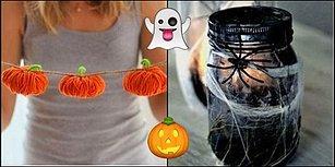 Sadece Elinizdeki Malzemeleri Kullanarak Evinizde Cadılar Bayramı Ambiyansı Yaratacak 3 Kolay Dekor