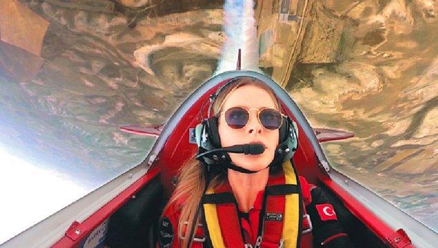 Çok küçük yaşta başlayan havacılık hayatı Semin'i genç yaşında muhteşem yerlere getirmiş.