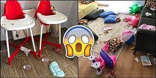Bilmeden Uçup Kaçanların Dikkatine: Bu 4 Fotoğraf Size İkiz Çocuk Sahibi Olmayı Özetliyor!