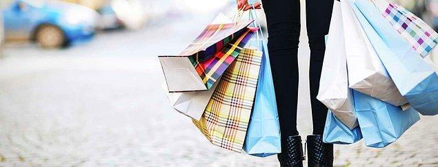 9. Alışveriş yaparken ne alacağınızı bilemez, ya hiçbirini almaz ya da bütün beğendiklerinizi alırsınız.