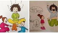 Annelerin Her Gün Yaşadığı Sorunları Eğlenceli Çizimlerle Anlatan Sanatçı: Özlem Açar